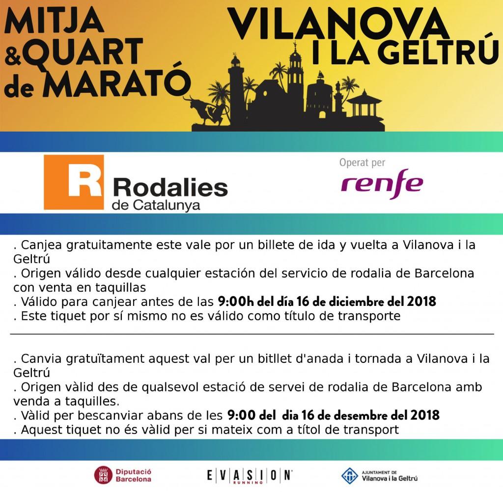 Tiquet RENFE MMCV2018